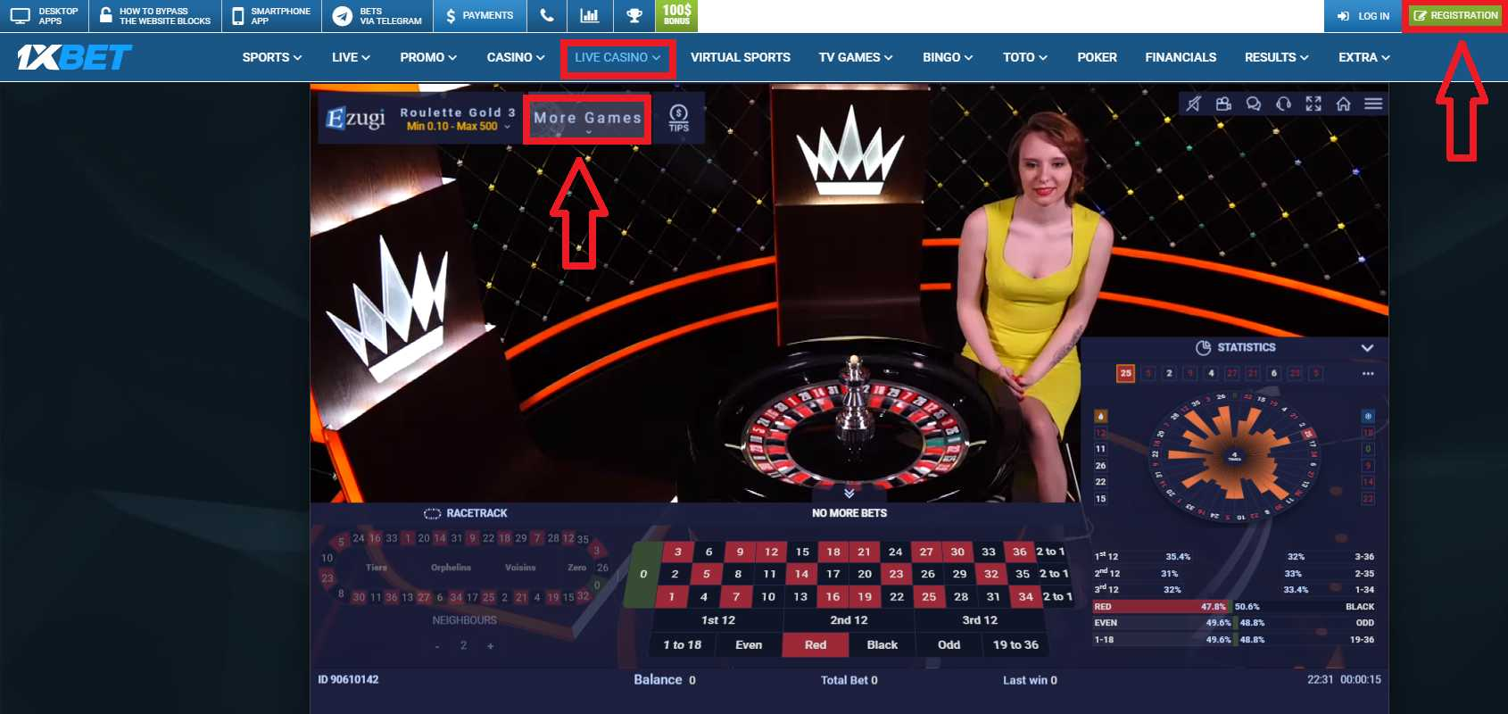 1xBet Blackjack and Other Games in the Mobile Casino